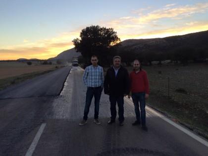 La Diputació de Castelló ha invertit en 2015 més de 12.000.000€ en 800km de carreteres.