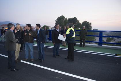 La Diputació obri al trànsit la nova carretera de Els Ibarsos a Culla i dóna solució a una reivindicació històrica del Maestrat