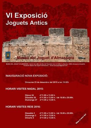 El Museu del Joguet d'Almassora inaugura la seua sisena col·lecció inèdita