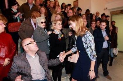 Amparo Marco reconeix en un acte oficial la labor del voluntariat