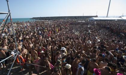 Borriana i Generalitat realitzen la visita oficial a la vuitena edició del festival l'Arenal Sound
