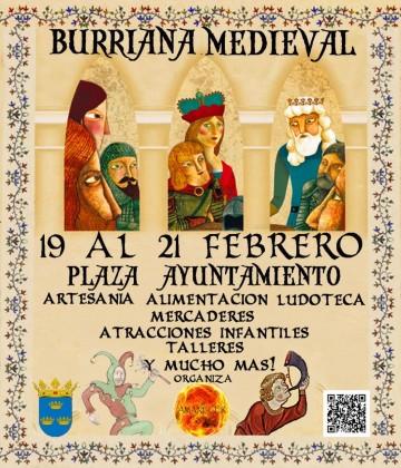 El Mercat Medieval arriba a Borriana aquest cap de setmana
