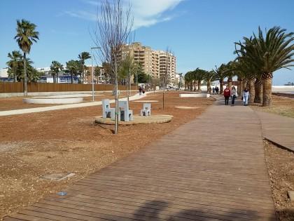 El Passeig Marítim Sud de Benicarló s'obri al públic
