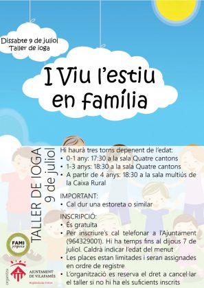 Vilafamés programa un taller de ioga per a xiquets i xiquetes