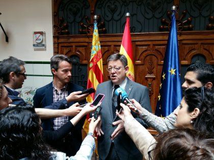 Ximo Puig avança les eleccions de la Comunitat Valenciana