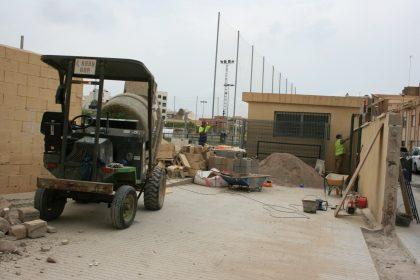 Almassora inicia l'enderrocament dels vestuaris de Les Boqueres per a construir un trinquet