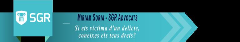 Miriam Soria SGR