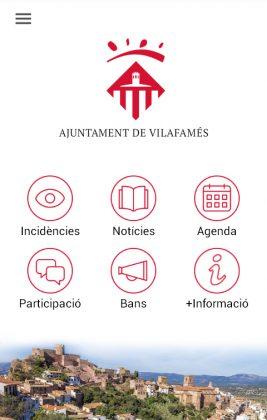 Vilafamés Info, l'Ajuntament al mòbil
