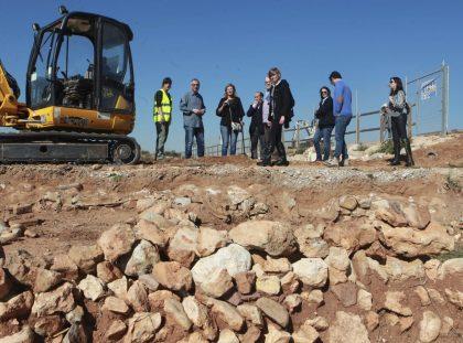 Castelló inverteix més de 100.000 euros en els treballs de consolidació de la vila romana del camí de Vinamargo