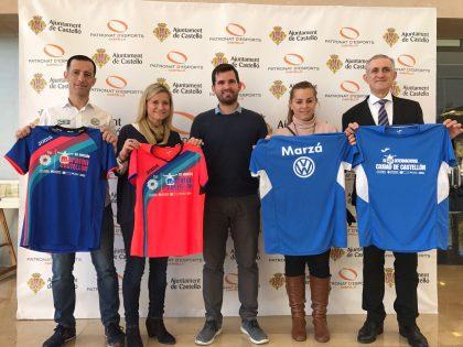 L'Ajuntament de Castelló presenta les samarretes oficials Joma del VII Marató BP Castelló