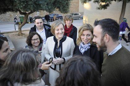 Castelló projecta un pàrquing per a més de 250 vehicles al voltant de l'estació de tren i ampliar el col·legi Jaume I