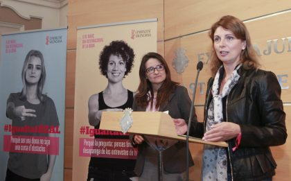 Amparo Marco i Mónica Oltra demanen que la igualtat entre dones i homes siga una realitat a Castelló