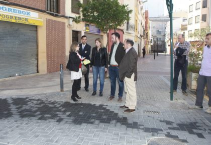 Castelló inverteix més de 126.000 euros en la rehabilitació de tres carrers