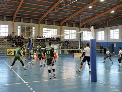 El Club de Voleibol Mediterrani de Castelló perd davant l'Unicaja Almeria