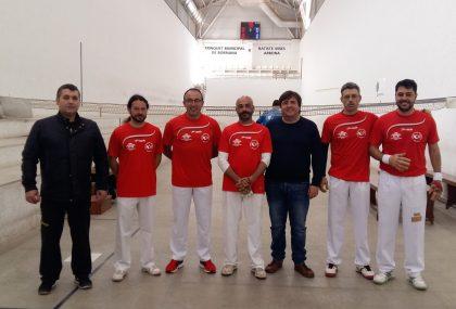 Borriana estrena equip en el campionat autonòmic de galotxa