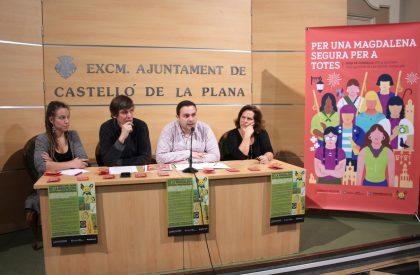 """L'Ajuntament de Castelló aconsella consumir drogues il·legals """"amb persones de confiança"""" en Magdalena"""