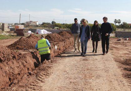 Castelló inverteix 143.000 euros en la creació d'horts socials en el camí d'en Riera