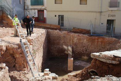 Onda reprèn les excavacions de la Sinagoga després de rebre el permís de Conselleria