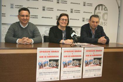 La banda d'Almassora prepara un concert único al costat de Spanish Brass