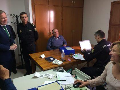 La Diputació acosta a l'Alt Maestrat el servei mòbil de renovació del DNI