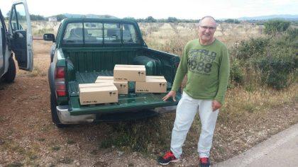 Fruit del nou conveni entre apicultors i Vinarós es destinen 48 quilos de mel a Creu Roja