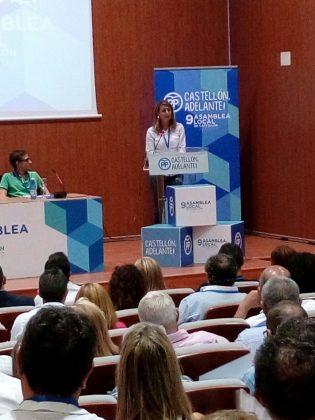 Begoña Carrasco és proclamada presidenta del PP de la ciutat de Castelló amb el 99% dels vots