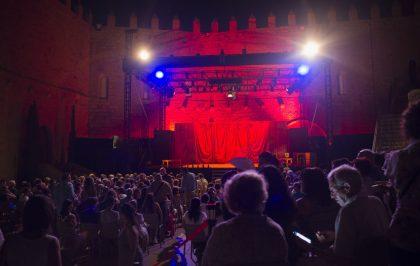 El Festival de Teatre Clàssic del Castell de Peníscola tanca la seua vintena edició després de congregar a més de 3.000 espectadors