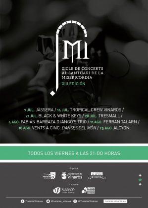 Este divendres comença la XIII edició del Cicle de Concerts al Santuari de la Misericòrdia a Vinarós