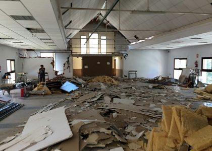 Almassora avança les obres de l'Espai Mercat per a obrir en festes el nou Museu del Joguet