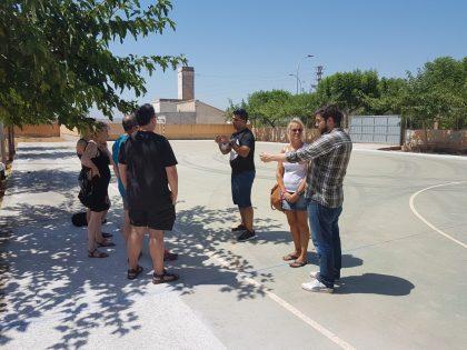 Els escolars de Nules comencen el curs amb aularis d'infantil remodelats, més accessibilitat i nous espais esportius