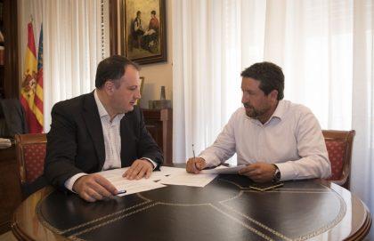 Moliner redueix el deute de la Diputació per sota dels 50 milions i manté una inversió rècord en els municipis