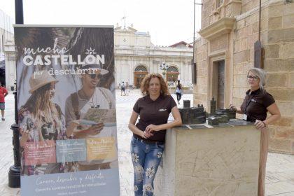 Castelló estrena la ruta turística d'arqueologia amb una visita guiada al Castell Vell i la Magdalena