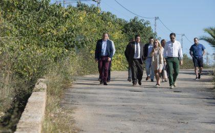 La Diputació invertirà 125.000 euros per solucionar problemes d'inundacions i tràfic en el camí vell de Torreblanca al Mar