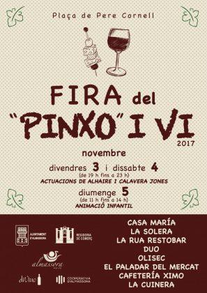 La 'Fira del Pinxo i el Vi' d'Almassora reuneix més de trenta propostes culinàries