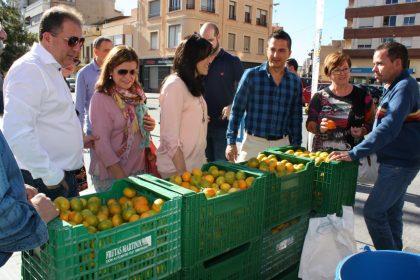 El VI Mercat de la Taronja marca l'inici la temporada citrícola a Almassora