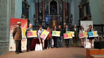 Lliurament de premis del I Concurs Escolar d'Escriptura en Valencià