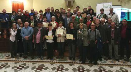 Castelló clausura el primer programa d'agricultura ecològica en horts urbans