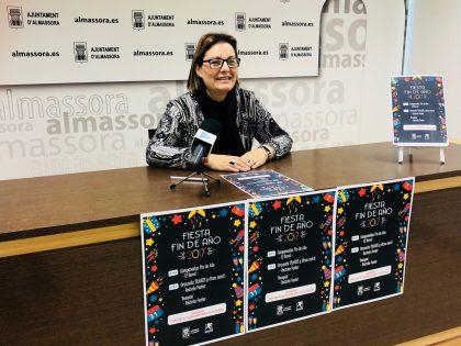 Festa de Cap d'Any per a acomiadar 2017 a Almassora