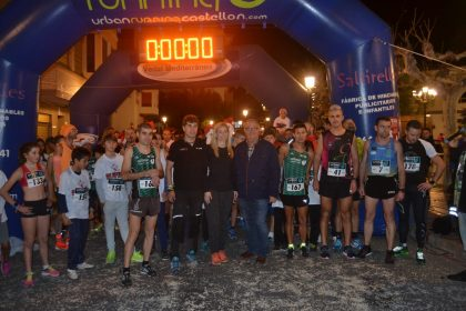 Més de 200 atletes participen en la Sant Silvestre Solidària d'Orpesa