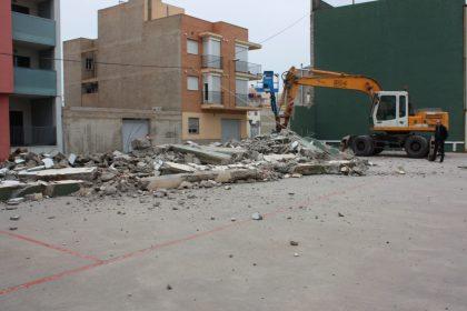 Comença la construcció del nou pavelló de gimnàstica d'Almassora