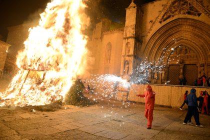 Morella, a una setmana de la festa de Sant Antoni