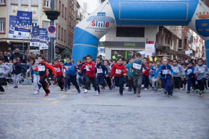 1.500 persones confirmen a la Cursa de Sant Blai com la més seguida i multitudinària de les carreres populars a Borriana