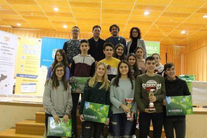L'IES Gilabert de Centelles guanya el III campionat de scrabble en valencià de Nules