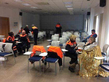 El servei municipal de Protecció Civil forma els seus voluntaris per a l'atenció d'accidents amb múltiples víctimes a Vila-real