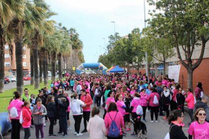 La Cursa de la Dona continua creixent a Borriana i reuneix a 1.200 participants en la seua tercera edició
