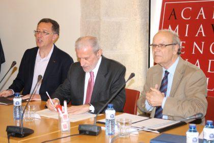 El rector de la Universitat de València presideix un Ple de l'AVL
