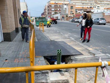 Almassora destina 190.000 euros a l'obra de Sant Jaume que pal·liarà inundacions en La Foia