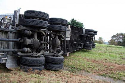 Accident mortal amb diversos camions a Vinaròs