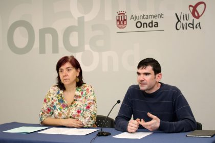 L'Ajuntament d'Onda destina 19.000 € a associacions per a realitzar programes culturals