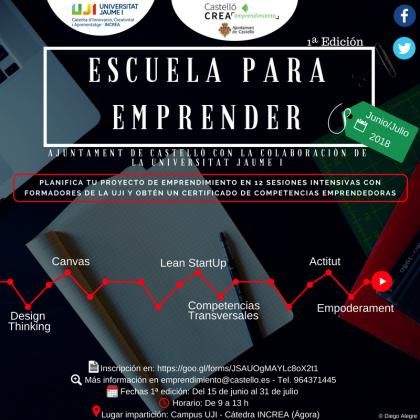 L'Ajuntament de Castelló i l'UJI creen la primera Escola per a Emprendre